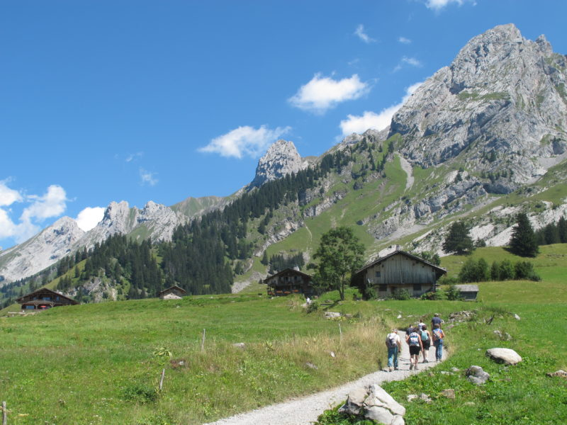 08 Days Selfguided trek From The Aravis to Annecy Lake