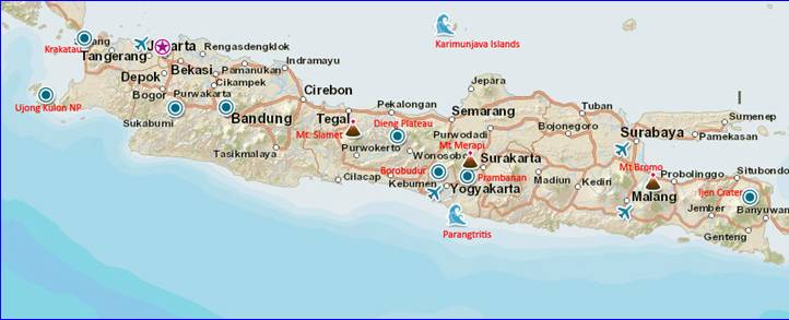 indo-itinerary-map