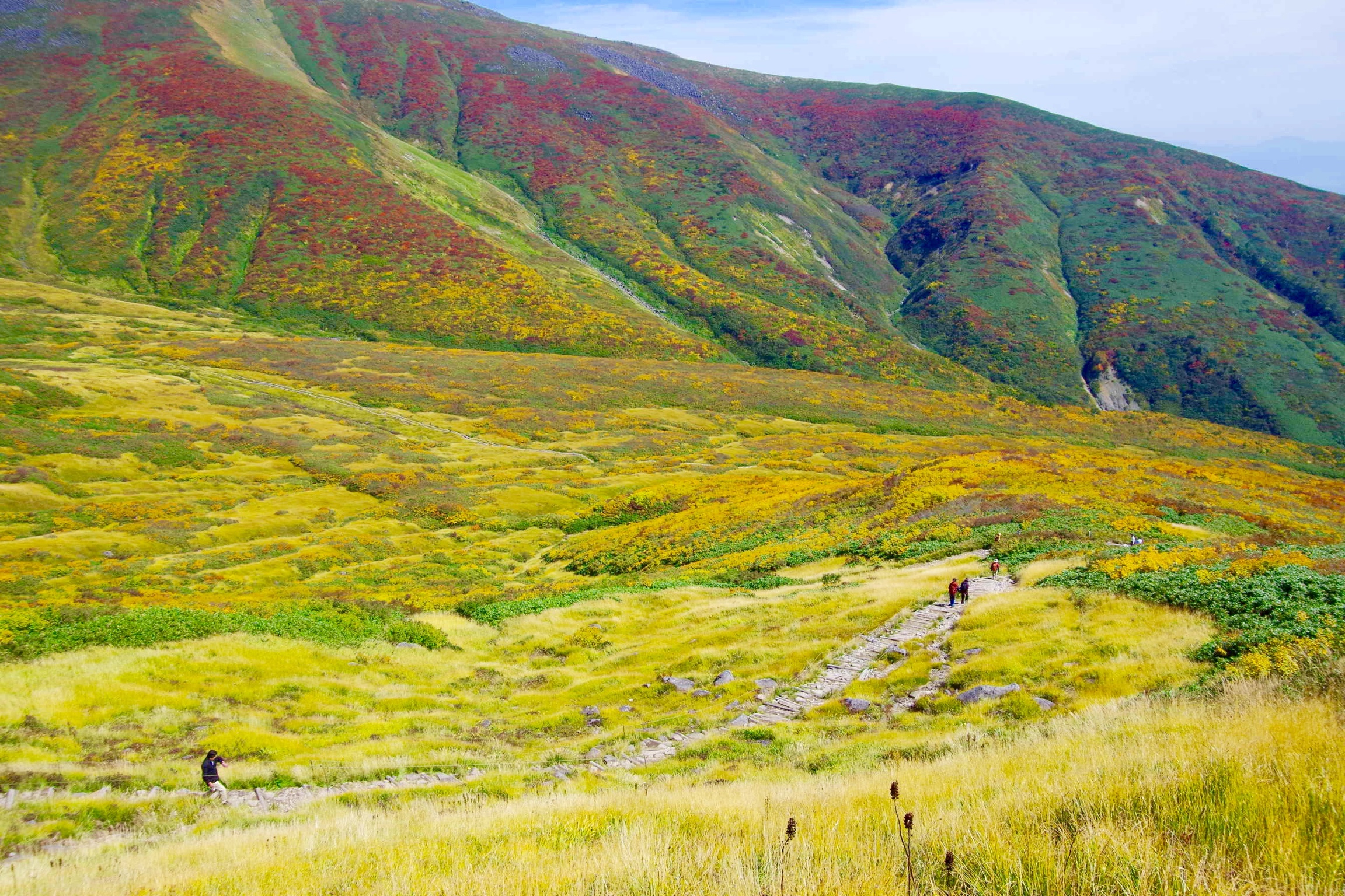 Mt Gassan Autumn trek-4