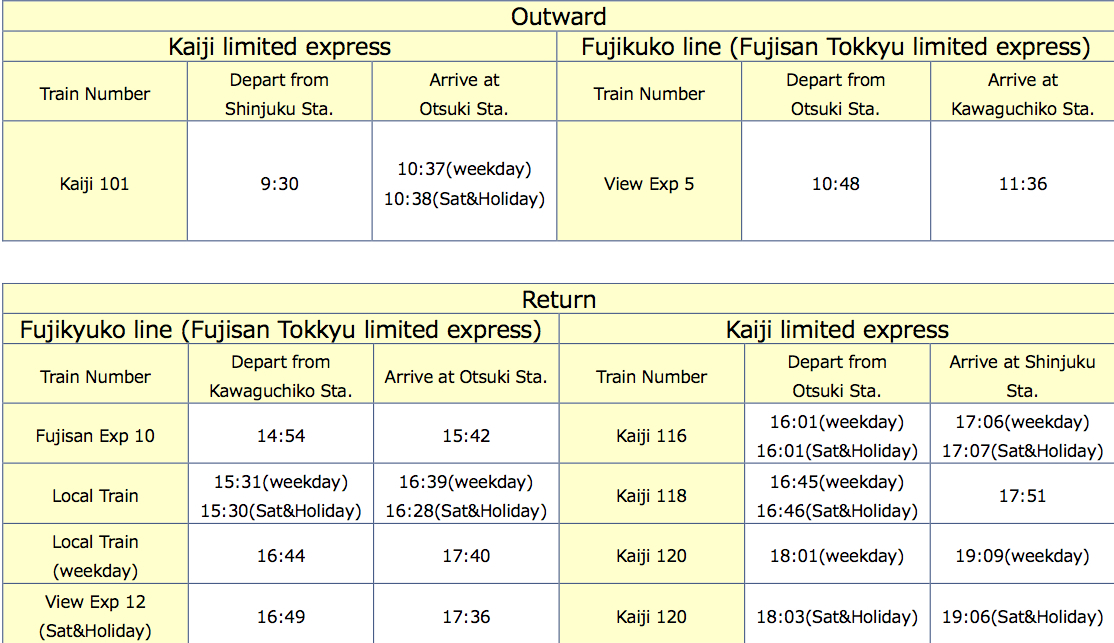 one-day-mt-fuji_lake-kawaguchi-access