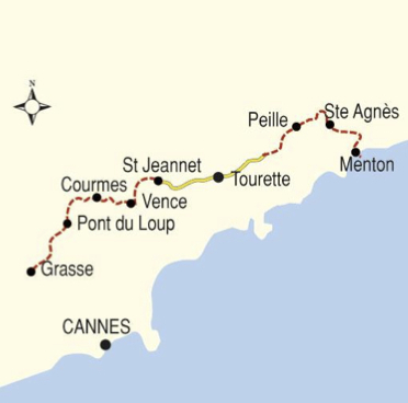 08 Days Trek in the French Riviera Southern France XTrekkers