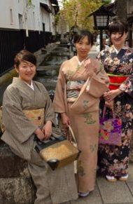 Kimono Rental and Walk in Hida Furukawa-2